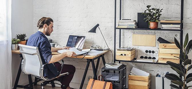 לעבוד מהבית או לשכור משרד?